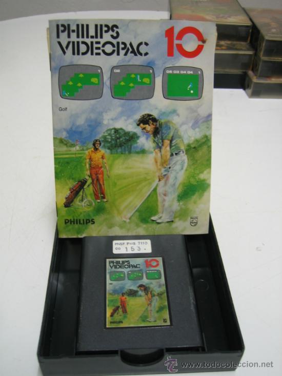 Videojuegos y Consolas: Videoconsola. Videopac Computer PHILIPS G7000, con 22 juegos. Funciona - Foto 39 - 33644839