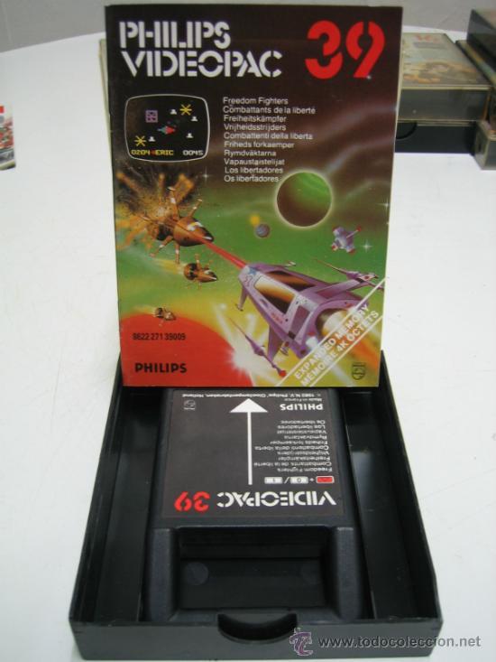 Videojuegos y Consolas: Videoconsola. Videopac Computer PHILIPS G7000, con 22 juegos. Funciona - Foto 42 - 33644839