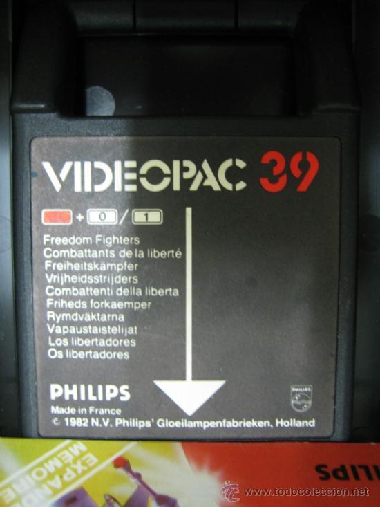 Videojuegos y Consolas: Videoconsola. Videopac Computer PHILIPS G7000, con 22 juegos. Funciona - Foto 43 - 33644839