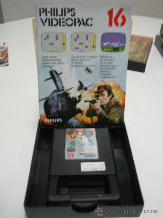 Videojuegos y Consolas: Videoconsola. Videopac Computer PHILIPS G7000, con 22 juegos. Funciona - Foto 44 - 33644839