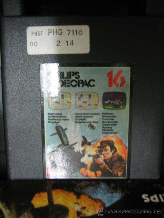 Videojuegos y Consolas: Videoconsola. Videopac Computer PHILIPS G7000, con 22 juegos. Funciona - Foto 45 - 33644839