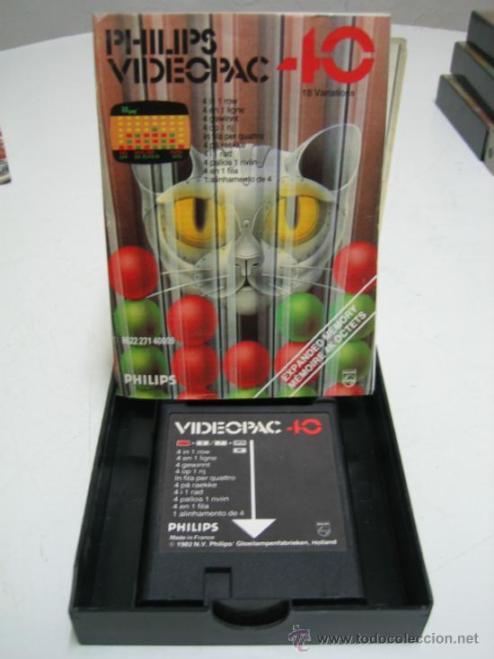 Videojuegos y Consolas: Videoconsola. Videopac Computer PHILIPS G7000, con 22 juegos. Funciona - Foto 46 - 33644839