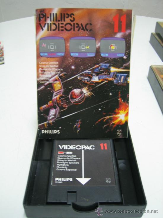 Videojuegos y Consolas: Videoconsola. Videopac Computer PHILIPS G7000, con 22 juegos. Funciona - Foto 48 - 33644839