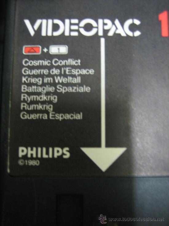 Videojuegos y Consolas: Videoconsola. Videopac Computer PHILIPS G7000, con 22 juegos. Funciona - Foto 49 - 33644839