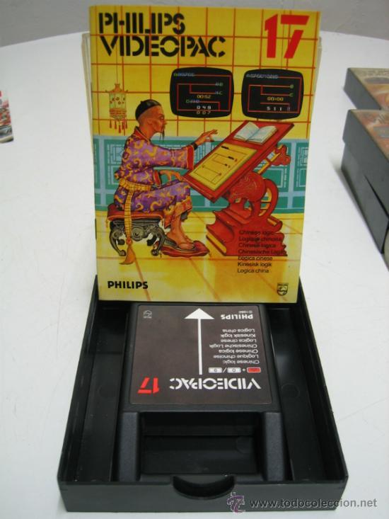 Videojuegos y Consolas: Videoconsola. Videopac Computer PHILIPS G7000, con 22 juegos. Funciona - Foto 50 - 33644839