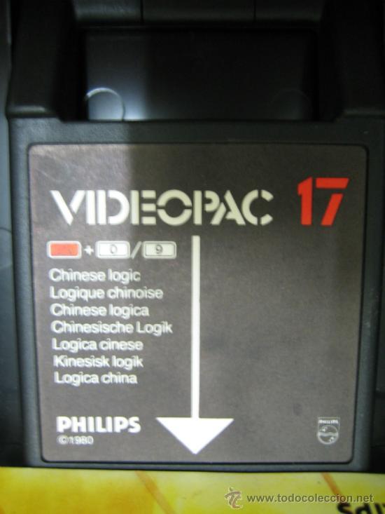 Videojuegos y Consolas: Videoconsola. Videopac Computer PHILIPS G7000, con 22 juegos. Funciona - Foto 51 - 33644839