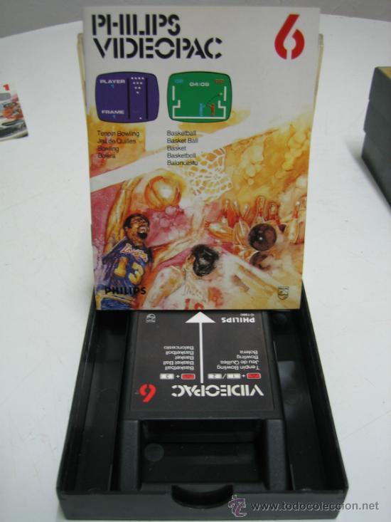 Videojuegos y Consolas: Videoconsola. Videopac Computer PHILIPS G7000, con 22 juegos. Funciona - Foto 52 - 33644839
