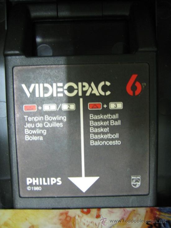 Videojuegos y Consolas: Videoconsola. Videopac Computer PHILIPS G7000, con 22 juegos. Funciona - Foto 53 - 33644839