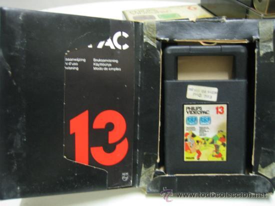 Videojuegos y Consolas: Videoconsola. Videopac Computer PHILIPS G7000, con 22 juegos. Funciona - Foto 54 - 33644839