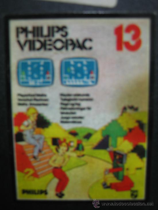 Videojuegos y Consolas: Videoconsola. Videopac Computer PHILIPS G7000, con 22 juegos. Funciona - Foto 55 - 33644839