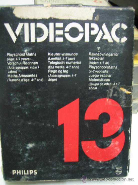 Videojuegos y Consolas: Videoconsola. Videopac Computer PHILIPS G7000, con 22 juegos. Funciona - Foto 56 - 33644839