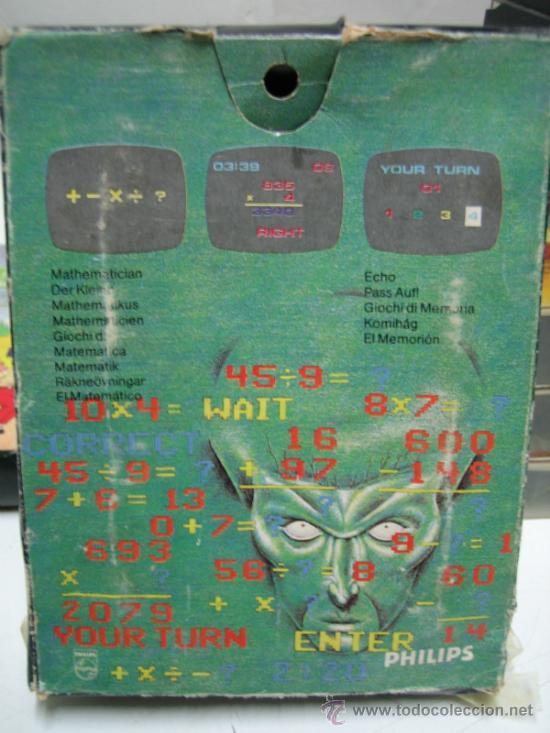 Videojuegos y Consolas: Videoconsola. Videopac Computer PHILIPS G7000, con 22 juegos. Funciona - Foto 58 - 33644839