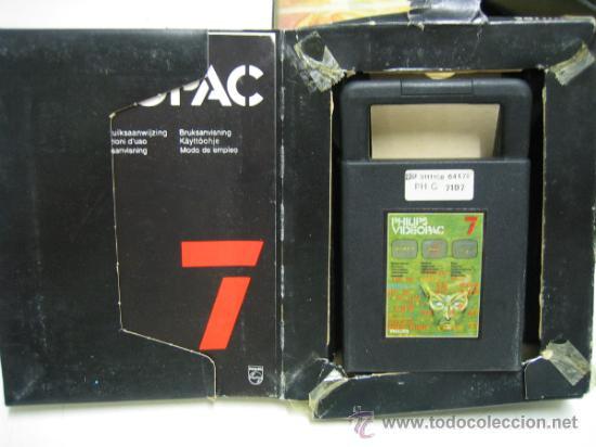 Videojuegos y Consolas: Videoconsola. Videopac Computer PHILIPS G7000, con 22 juegos. Funciona - Foto 59 - 33644839