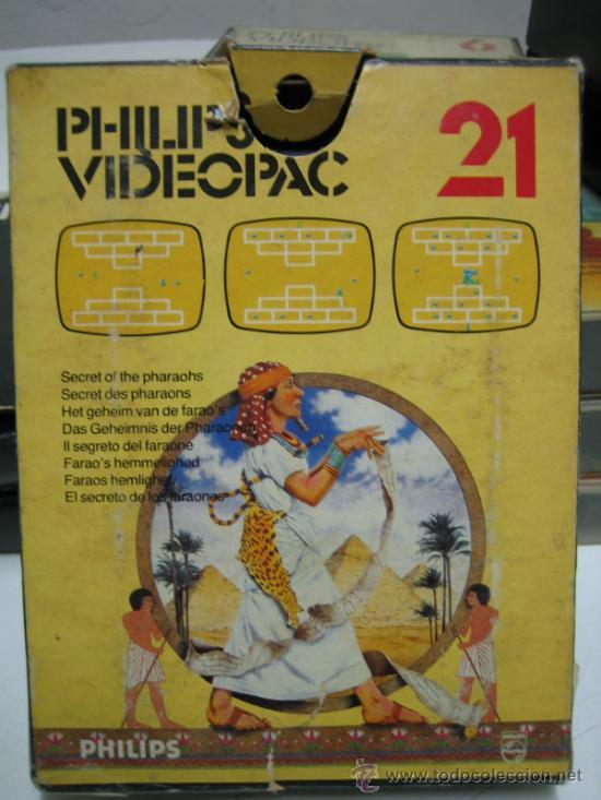 Videojuegos y Consolas: Videoconsola. Videopac Computer PHILIPS G7000, con 22 juegos. Funciona - Foto 61 - 33644839