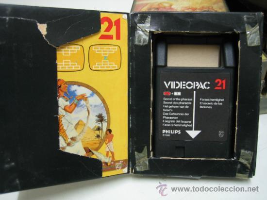 Videojuegos y Consolas: Videoconsola. Videopac Computer PHILIPS G7000, con 22 juegos. Funciona - Foto 62 - 33644839