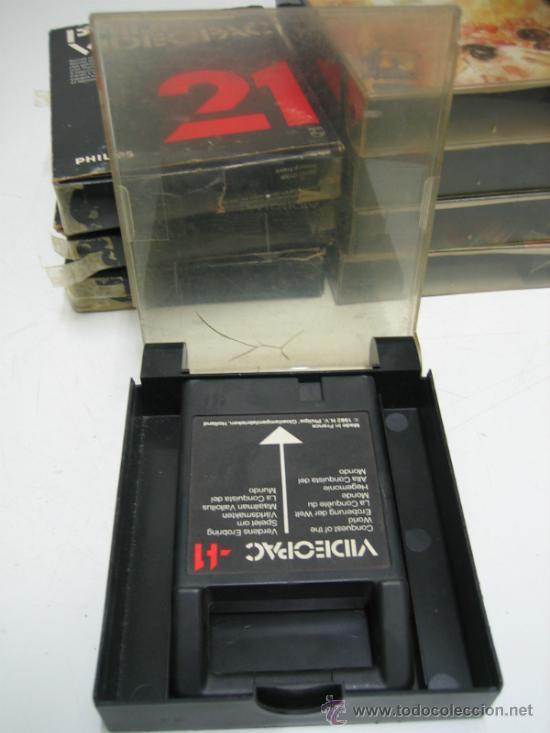 Videojuegos y Consolas: Videoconsola. Videopac Computer PHILIPS G7000, con 22 juegos. Funciona - Foto 63 - 33644839
