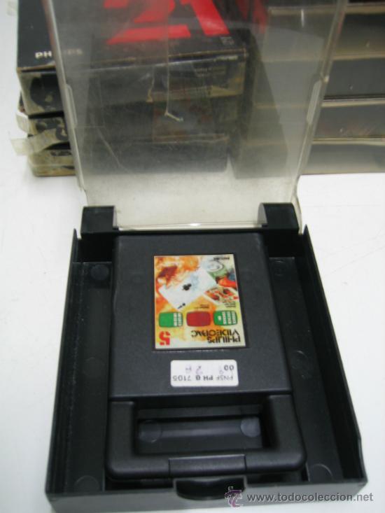 Videojuegos y Consolas: Videoconsola. Videopac Computer PHILIPS G7000, con 22 juegos. Funciona - Foto 65 - 33644839