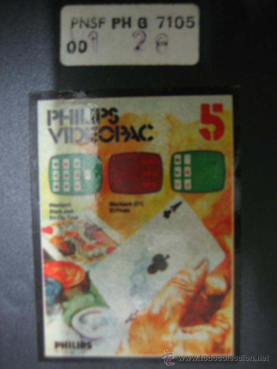Videojuegos y Consolas: Videoconsola. Videopac Computer PHILIPS G7000, con 22 juegos. Funciona - Foto 66 - 33644839