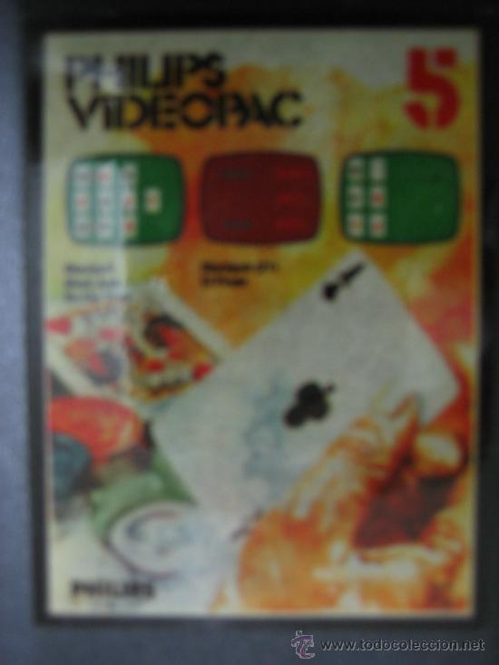 Videojuegos y Consolas: Videoconsola. Videopac Computer PHILIPS G7000, con 22 juegos. Funciona - Foto 67 - 33644839