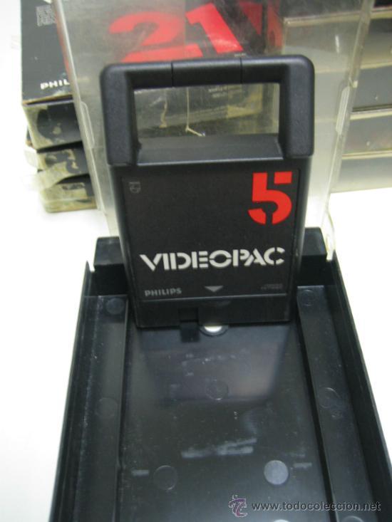 Videojuegos y Consolas: Videoconsola. Videopac Computer PHILIPS G7000, con 22 juegos. Funciona - Foto 68 - 33644839