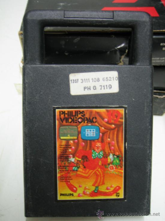 Videojuegos y Consolas: Videoconsola. Videopac Computer PHILIPS G7000, con 22 juegos. Funciona - Foto 69 - 33644839