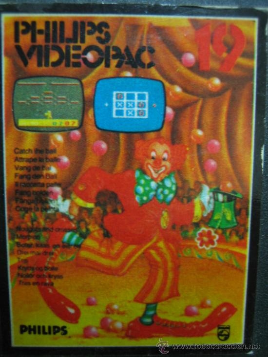 Videojuegos y Consolas: Videoconsola. Videopac Computer PHILIPS G7000, con 22 juegos. Funciona - Foto 70 - 33644839