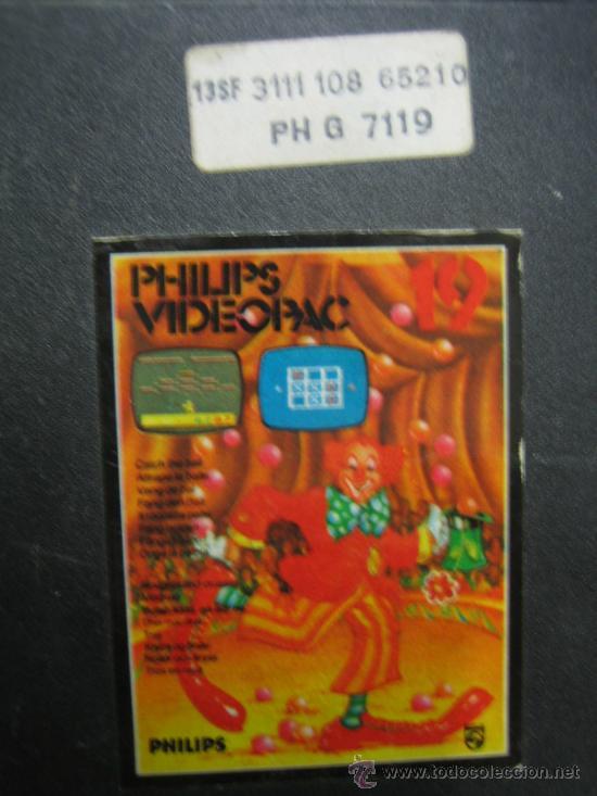 Videojuegos y Consolas: Videoconsola. Videopac Computer PHILIPS G7000, con 22 juegos. Funciona - Foto 71 - 33644839