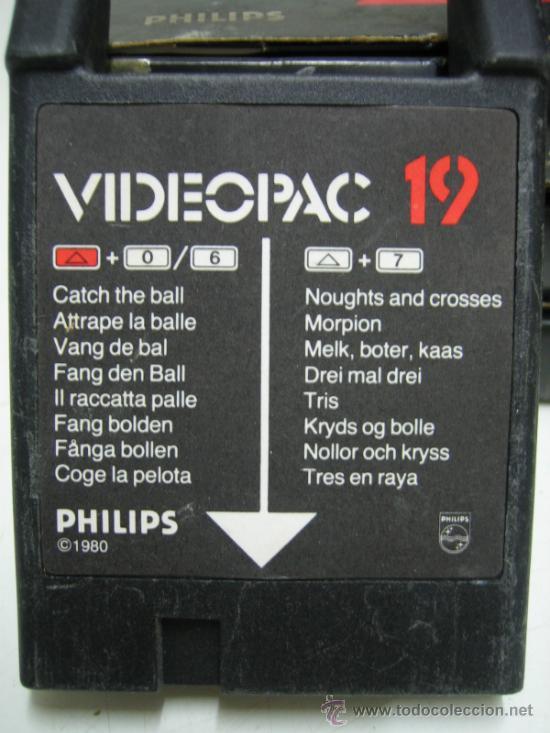 Videojuegos y Consolas: Videoconsola. Videopac Computer PHILIPS G7000, con 22 juegos. Funciona - Foto 72 - 33644839