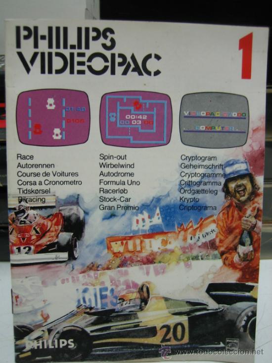 Videojuegos y Consolas: Videoconsola. Videopac Computer PHILIPS G7000, con 22 juegos. Funciona - Foto 73 - 33644839