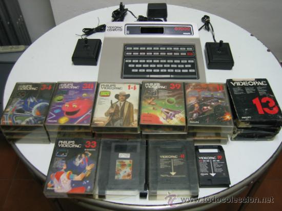 VIDEOCONSOLA. VIDEOPAC COMPUTER PHILIPS G7000, CON 22 JUEGOS. FUNCIONA (Juguetes - Videojuegos y Consolas - Otros descatalogados)