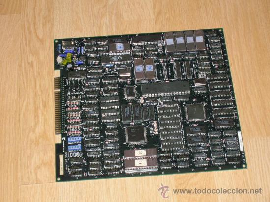 OUTZONE PCB JAMMA ORIGINAL DE TOAPLAN PLACA RECREATIVA ORIGINAL OUT ZONE (Juguetes - Videojuegos y Consolas - Otros descatalogados)