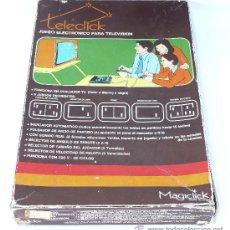 Videojuegos y Consolas: DIFICIL CONSOLA ANTIGUA TELECLICK DE MAGICLICK JUEGO ELECTRONICO PARA TELEVISION VINTAGE . Lote 35009676