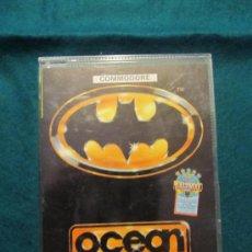 Videojuegos y Consolas: M69 JUEGO BATMAN PARA COMMODORE CASSETTE. Lote 35222608