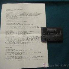 Videojuegos y Consolas: M69 JUEGO LEONARDO PARA COMMODORE CASSETTE. Lote 35222660
