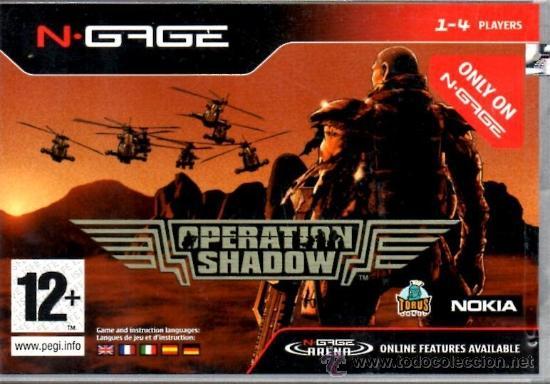 Operation Shadow [N-GAGE ESPAÑA], usado segunda mano