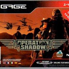 Videojuegos y Consolas: OPERATION SHADOW [N-GAGE ESPAÑA]. Lote 35919786