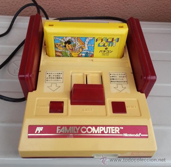 Antigua Videoconsola Family Computer Comprar Videojuegos Y