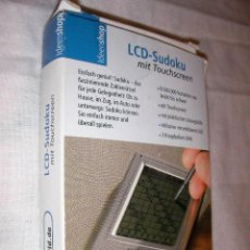 Videojuegos y Consolas: CONSOLA LCD SUDOKU EN SU CAJA . Lote 48679201