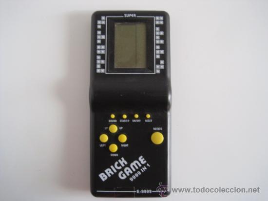 CONSOLA DE BOLSILLO BRICH GAME MODELO E-9999 (Juguetes - Videojuegos y Consolas - Otros descatalogados)