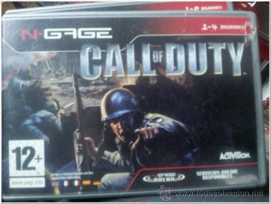 n-gage call of duty