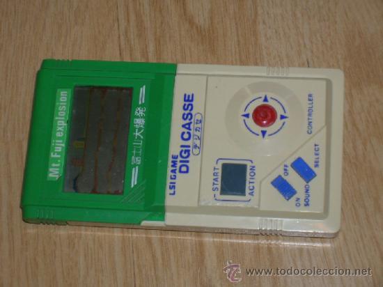 Videojuegos y Consolas: MT FUJI EXPLOSION Handheld GAME WATCH G&W - Foto 2 - 36844891