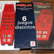 Videojuegos y Consolas: MERLIN - BORRAS. Lote 41624730