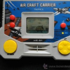 Videojuegos y Consolas: AIR CRAFT CARRIER TRONICA NO GAME WATCH. Lote 37039341