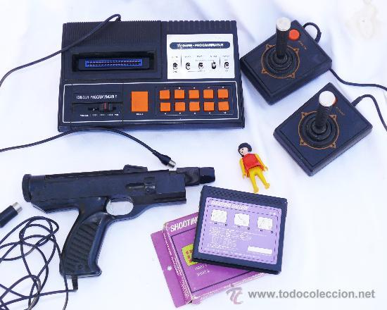 consolas de videojuegos anos 70