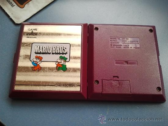 Videojuegos y Consolas: game watch de nintendo mario bros - Foto 2 - 37439724