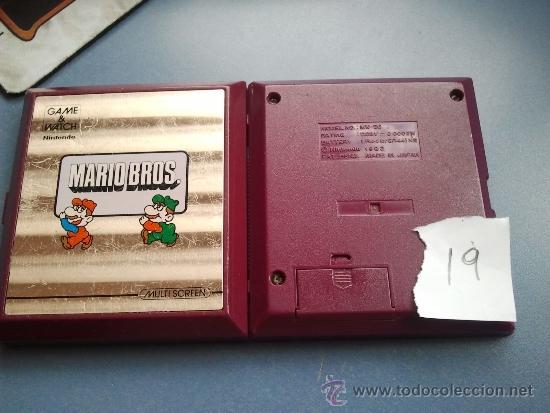 Videojuegos y Consolas: game watch de nintendo mario bros - Foto 3 - 37439724