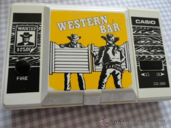 WESTERN BAR CASIO NO GAME WATCH (Juguetes - Videojuegos y Consolas - Otros descatalogados)