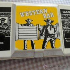 Videojuegos y Consolas: WESTERN BAR CASIO NO GAME WATCH. Lote 53078817