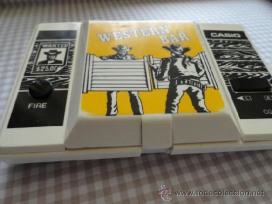 Videojuegos y Consolas: WESTERN BAR CASIO NO GAME WATCH - Foto 6 - 53078817
