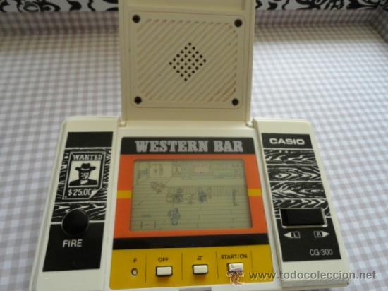 Videojuegos y Consolas: WESTERN BAR CASIO NO GAME WATCH - Foto 5 - 53078817